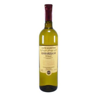 Вино Заря Кахетії Алазанська Долина/Сапераві/Цинандалі 0,75л