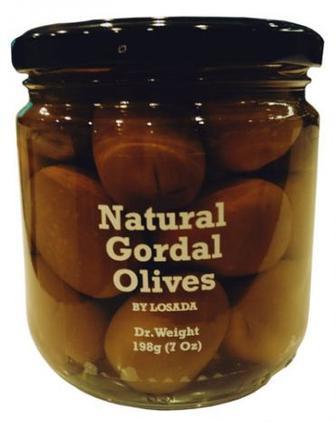 Оливки натуральні сорту Gordal 198 г