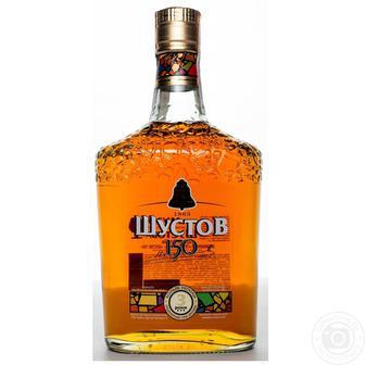 Коньяк 3* Шустов 0,5 л