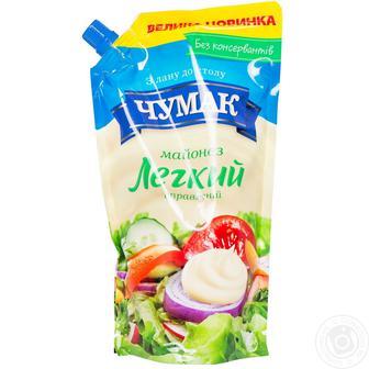Майонез «Легкий» 30% Чумак 350 г