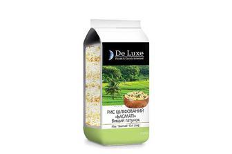 Крупа рис шліфований Басматі довгий De Luxe Foods & Goods Selected 1 кг