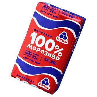 Морозиво Рудь 100% 90г