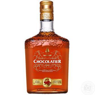 Напиток алкогольный Шустов Шоколатье Шоколад и Вишня 30% 0,5л