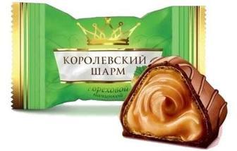 ЦУКЕРКИ Королівський Шарм з горіховою начинкою, 1 кг АВК