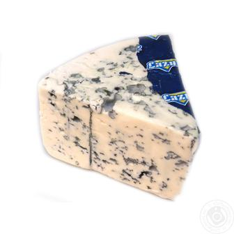 Сир голубий або сріблястий з пліснявою 50% Lazur Польща 100г