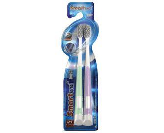 Набір зубних щіток Smartoral м'яких, 2шт./уп