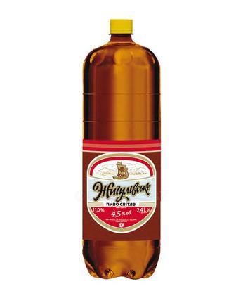 Жигулевское Пиво Оболонь 4,5%, 2,4 л