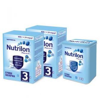 Сухая молочная смесь Nutrilon 3/4, 600 г