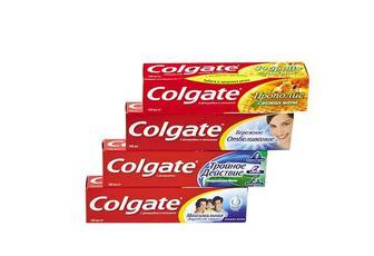 Паста зубна Прополіс/Дбайливе відбілювання/ Потрійна дія/Захист від карієсу Colgate 100 мл