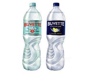 Вода минеральная Бювет № 5, газована, лимон 1.5л