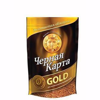 Кава розчинна Gold Чорна карта 95 г