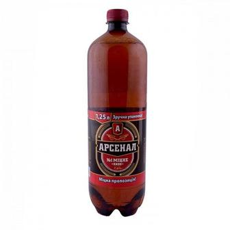 Пиво Арсенал Міцне 1,25л