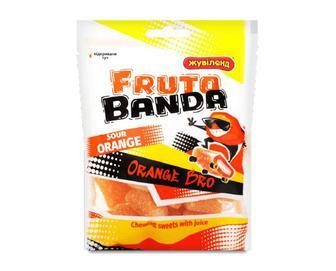 Цукерки «Жувіленд» Fruto Banda апельсин, 85г