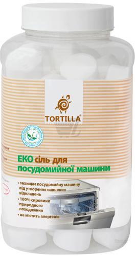 Сіль для ПММ TORTILLA Еко 1 кг
