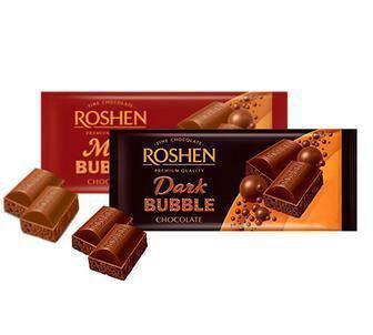 Шоколад пористий екстрачорний Рошен 85г