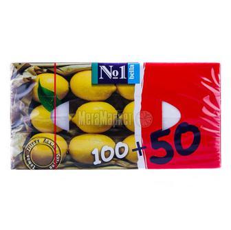 Хустки Bella №1 носові запах лимона 150шт