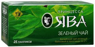 Чай чорний та зелений,Принцеса Нурі, Принцеса ЯВА, 25*2г