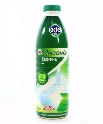 Скидка 31% ▷ Кефир Лактонія 2.5% Lactel 900г