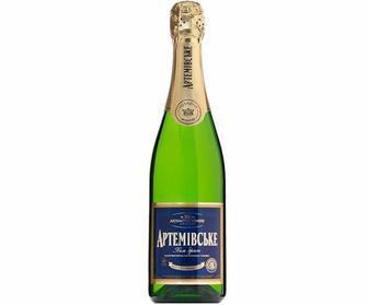 Вино ігристе Біле Брют Артемівське 750мл