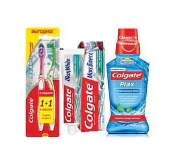 Зубні пасти, щітки, ополіскувачі Colgate