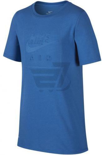 Футболка Nike B NK DRY TEE NIKE AIR LOGO 923650-403 L синій