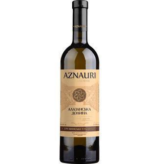 Вино Алазанська Долина червоне, біле напівсолодке Азнаурі 0,75л