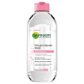 Мицеллярная вода для лица Garnier для очищения кожи лица, 400мл