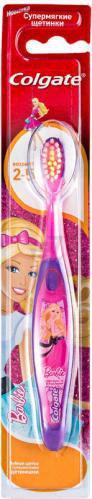 Дитяча зубна щітка Colgate Барбі/Людина-павук 2-5 років дуже м'яка 1 шт.