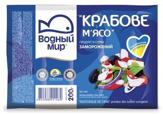 М'ясо крабове Водний мир с/м, 200 г