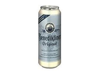 Пиво Benediktiner Original Hell, in can, 0.5 л