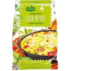 Суміш овочева для яєчні, Хуторок, 400г