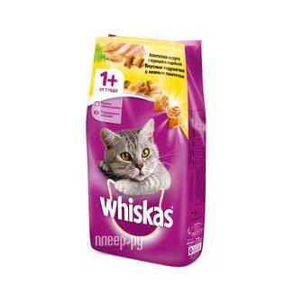 Корм д/кошек пач. Whiskas 85 г, 100 г