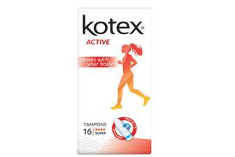 Тампони Kotex Active Super, 16шт./уп
