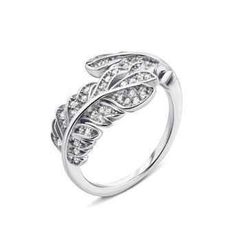 Серебряное кольцо с фианитами. Артикул PSS0797-R