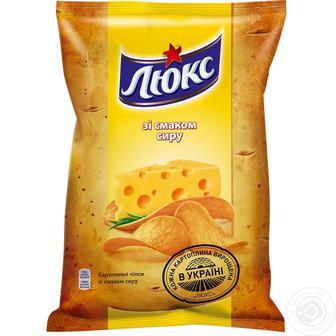 Чіпси картопляні Сир Люкс 183г