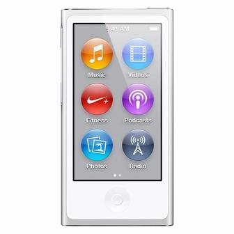 MP3 плеер Apple iPod Nano 7Gen 16GB Silver MD480 (Ref)
