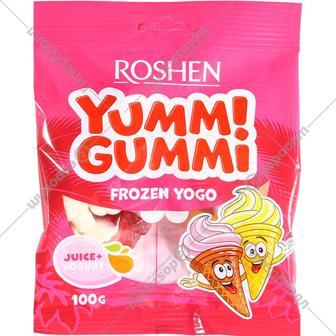 Конфеты желейные Yummi Gummi Frozen Yogo Рошен 100 г