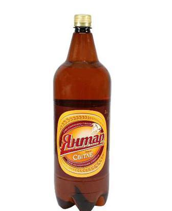 Пиво Янтар світле 2л
