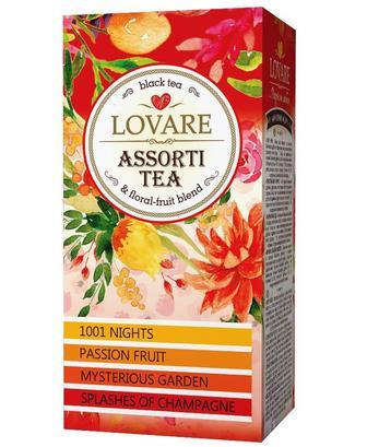 Чай Lovare Чорний асорті 24*2г