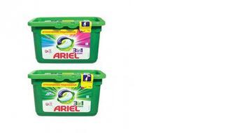Капсулы для стирки жидкие Color/Горный источник, ARIEL, 13*27г
