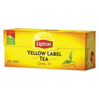 Чай Yellow Label, Lipton, 25 пак