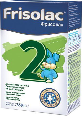 Смесь Friso Фрисолак 2 6-12 мес. 350 г