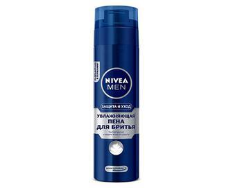 Піна для гоління Nivea класична зволожуюча, 200мл