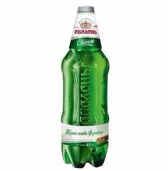 Пиво світле Оболонь 1,1 л