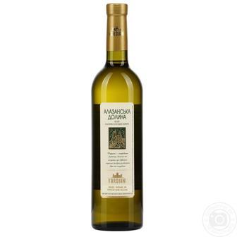 Вино Алазанская Долина Vardiani красное, белое п/сл 0,75 л