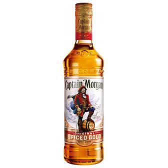 Алкогольный напиток на основе Карибского рома Captain Morgan Spiced Gold , 0,7 л