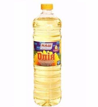 Олія соняшникова рафінована Наш Продукт 1 л