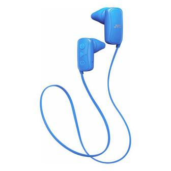 Наушники JVC Gumy Wireless In-Ear Headphones (HAF250BTA) Blue