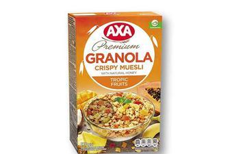 Мюслі Granola тропічні фрукти AXA - 270 г