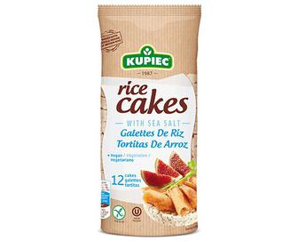 Хлібці Kupiec рисові з морською сіллю, 120г